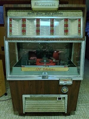 AMI Jukebox Model F - good condition, works well