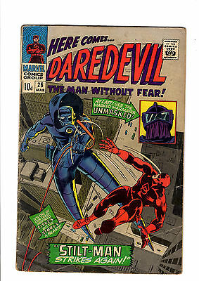 DAREDEVIL 26 guest starring THOR !! 1967
