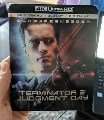 Terminator 2 Judgement Day (Blu-ray + 4K UHD) BRAND NEW!! w/ Slipcover