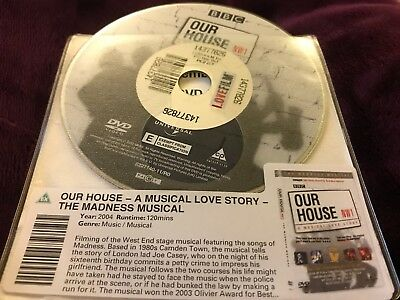 Our House - A Musical Love Story - The Madness Musical - DISC ONLY