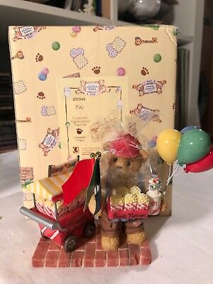 Cherished Teddies Club Ray Figurine 1999 Special Treats Make Life Complete