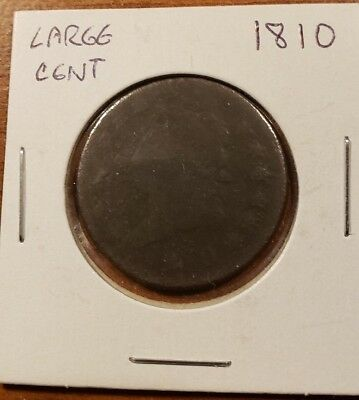 1810 US Large Cent Coin Classic Head US Penny