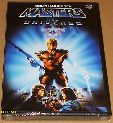 MASTERS DEL UNIVERSO / MASTERS OF THE UNIVERSE / HE-MAN English Español DVD R2 P