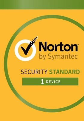 Norton Internet Security Standard 2019 1 Device 2 Years / 24 months Emailed Key
