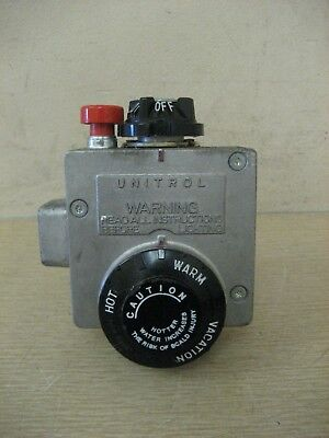 Robertshaw R110RTSP 66-AC8-335 Water Heater Control Gas Valve Thermostat Used