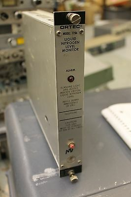 Ortec 729A Liquid Nitrogen Level Monitor NIM Module HWY