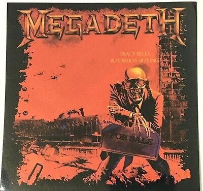 MEGADETH - Peace Sells... Original Collectable Sticker Official 2004(NOT patch)