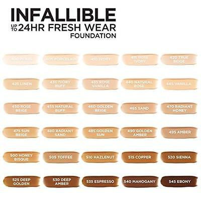 L'Oreal Infallible 24Hr Fresh Wear Foundation ~ Choose From 30 Shades!