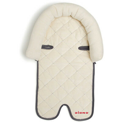 Diono 2-in-1 Infant Head Support Pillow, Ivory