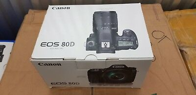 Brand New, Canon EOS 80D 24.2MP Digital SLR Camera - Black (Body Only)