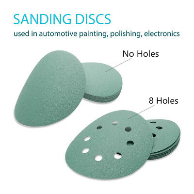 125mm 8-Hole Sanding Discs/Pads Sandpaper Hook and Loop Available 40-3000 Grits