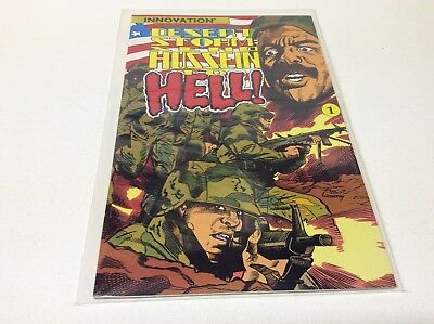 Desert Storm: Send Hussein To Hell #1 One Shot (Innovation/1991/military/121721)