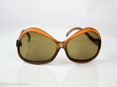 Vintage Made in France Oversized Sunglasses 1970's