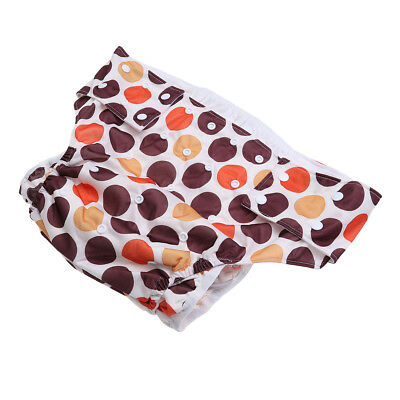 1 Pc Adults Cloth Diapers Adjustable Washable Leakfree Underwear for The Elderly