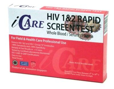 HIV 1&2 Rapid Test Kit - Test easily and privately for HIV