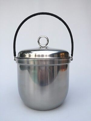 Sheffield STRATA Stainless Steel Ice Bucket with Pyrex Glass Insert