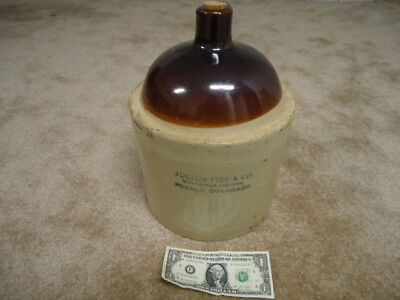 Rare Antique Julius Fist , Pueblo, Colorado Whiskey Jug
