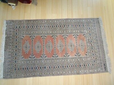 "Vintage Persian Long Runner 38"" x 70"" Long Signed??"