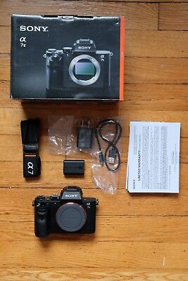 Sony Alpha a7 II 24.3MP Digital Mirrorless Camera - Black (Body Only)