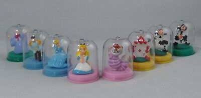Yujin Disney Character Figure collection Alice in Wonderland Cinderella complete