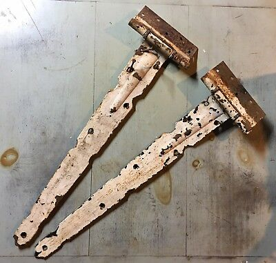 "Vintage Barn Hinges Hardware- 27"" Long"