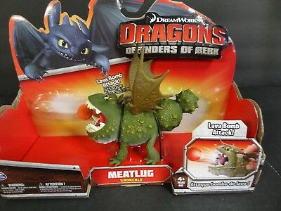 2013 How to Train Your Dragon Defenders of Berk MEATLUG  NIB