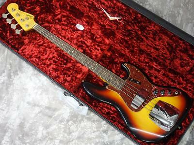 Fender Custom Shop 1962 Jazz Bass Journeyman Relic 3Tone Sunburst