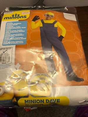 New Rubies MINION Dave COMPLETE Child Costume Despicable Me 3 M 8-10 Halloween