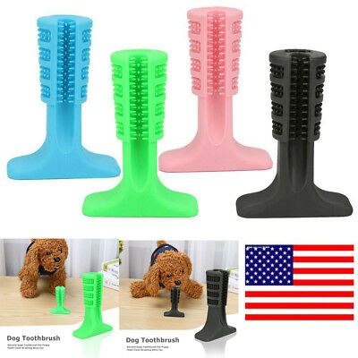 US Dog Toothbrush Molars Brush Toy Pet Puppy Dental Health Cleaning Oral Care