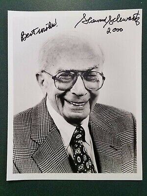 Sherwod Schwartz Signed Photo Crazy Price Photographs Autographs-original