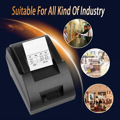 USB Mini 58mm POS Thermal Dot Receipt Bill Printer Set Roll Paper POS-5890C T5