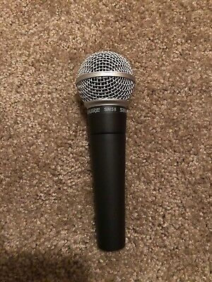 Shure SM58-LC Dynamic Wired XLR Professional Microphone TESTED