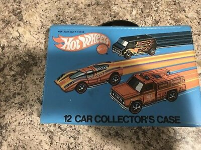 Vintage Hot Wheels Case And Car Lot
