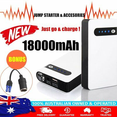 Portable Jump Starter Battery Charger Power Bank 12V Pack LED Minimax 1T9