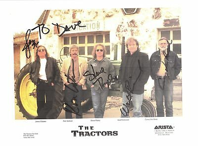 The Tractors-signed photo
