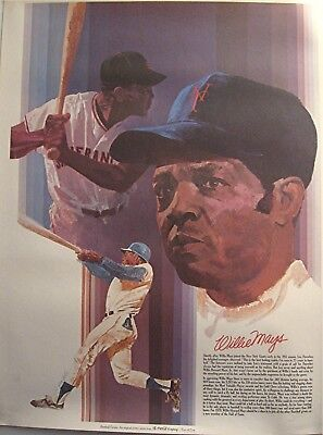 Coca Cola Willie Mays Major League Baseball Great Series Old Store Stock