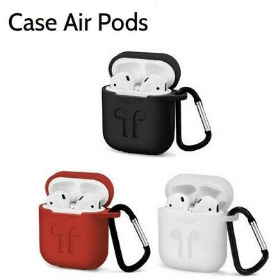 Per Airpods Custodia Cover in Silicone Protettivo Aderente per Apple Airpod tt99