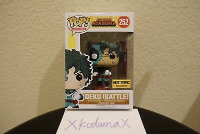 FUNKO POP MY HERO ACADEMIA: Battle Deku #252. HOT TOPIC EXCLUSIVE (In hand)