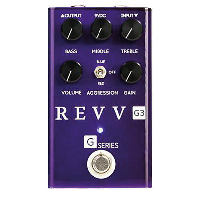 Revv Amplification G3 Distortion Guitar Effect Pedal