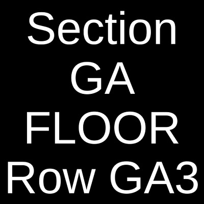 2 Tickets Bad Suns 5/11/19 The Wiltern Los Angeles, CA