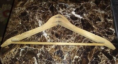 Vintage/antique Wood Clothes Hanger