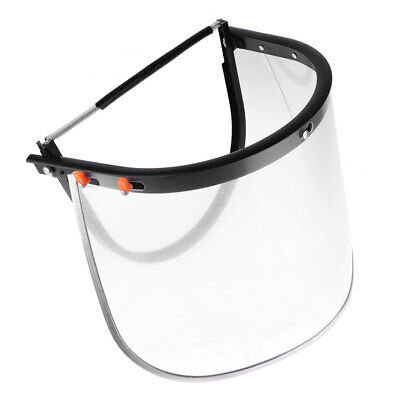 2Pcs High Impact Shield with Bracket Anti-Fog Scratch-Resistance Face Protection