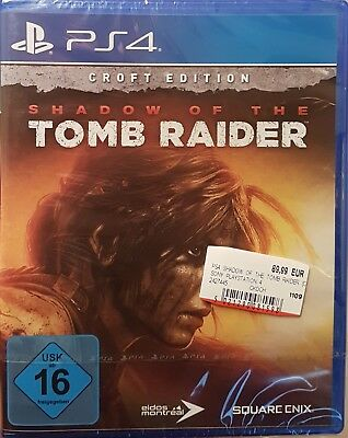PS4 Shadow of the Tomb Raider - Croft Edition -