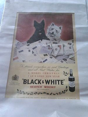 2 affiches whisky anciennes