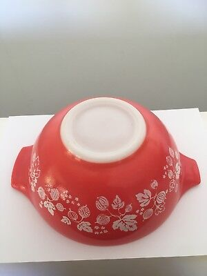 Pyrex Cinderella Mixing Bowl #402 In Coral - Very Hard To Find 1958/59