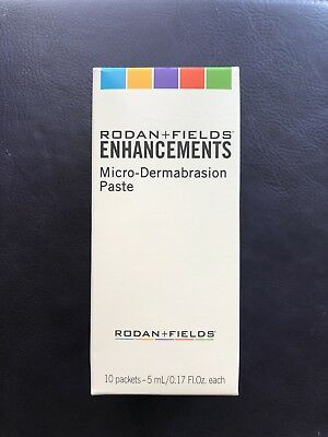 Rodan and Fields microdermabrasion paste packets (10)