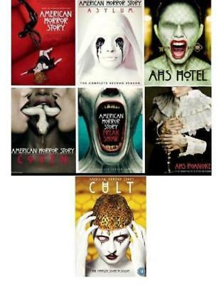 American Horror Story DVD Seasons 1-7! BRAND NEW! FREE SHIPPING!!