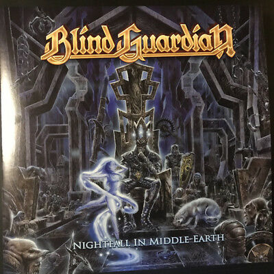 Blind Guardian-Nightfall in Middle Earth Red-White Vinyl
