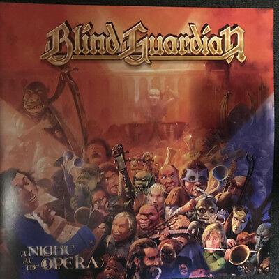 Blind Guardian - A Night At The Opera 2 Splatter Vinyl