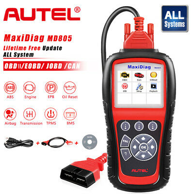 Autel MD805 MD802 Auto Diagnostic Tool OBD2 Code Reader ABS SRS Launch X431 VIII